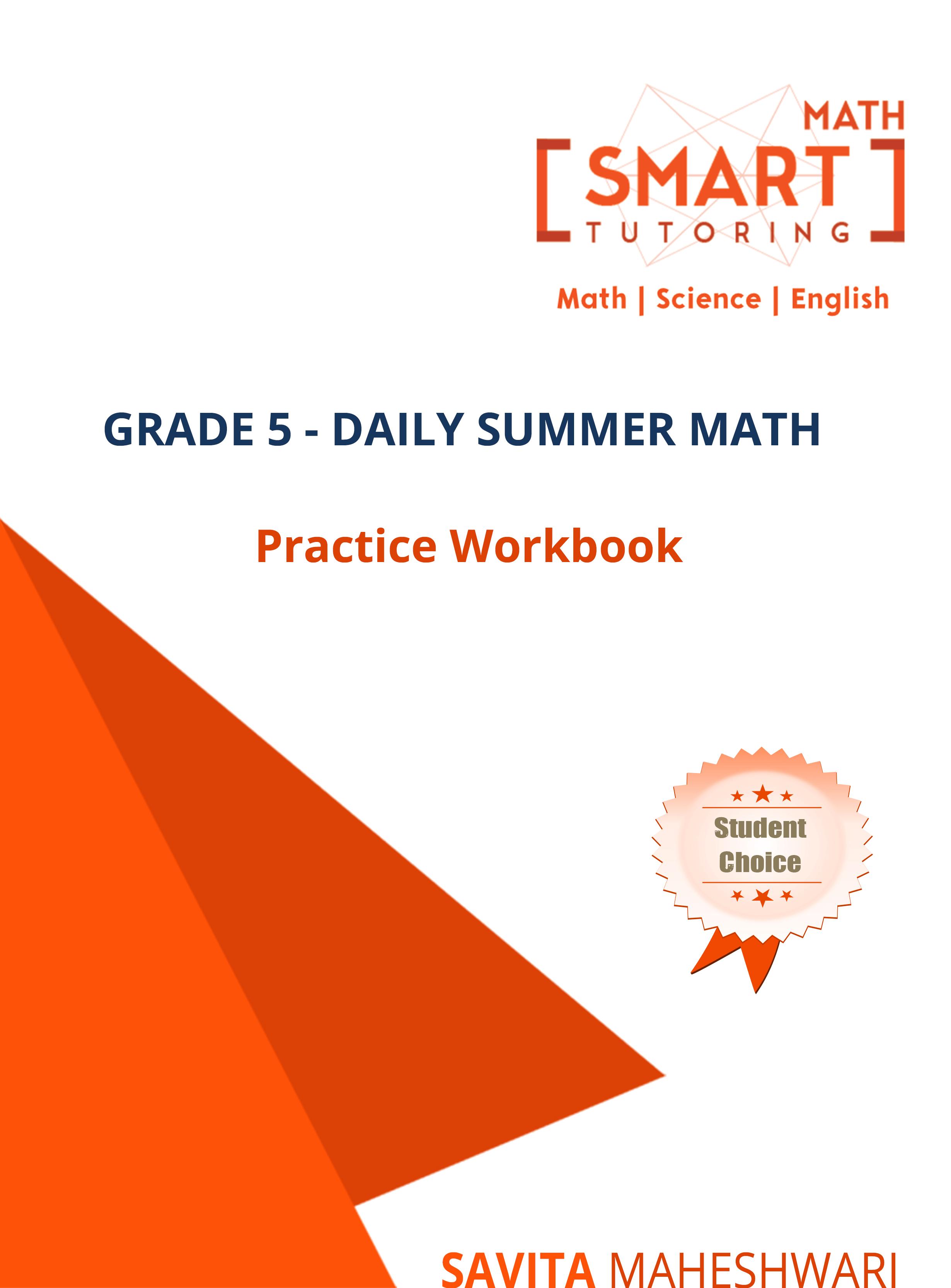 Grade 5-Daily Summer Math