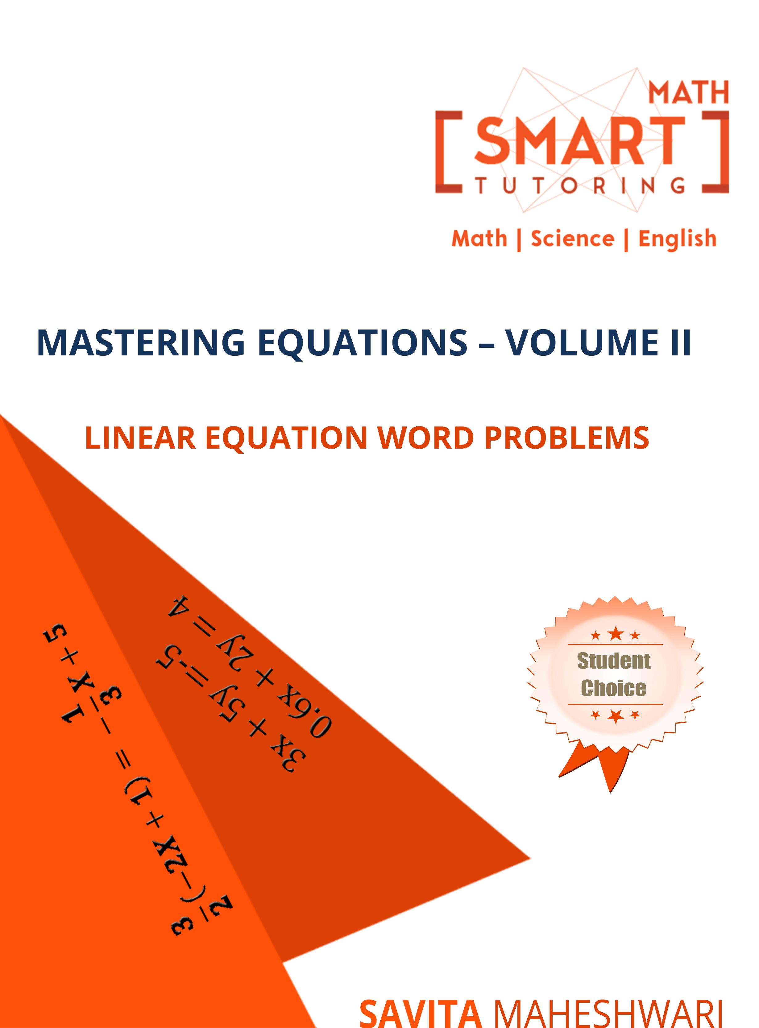 Mastering Equation-Vol II