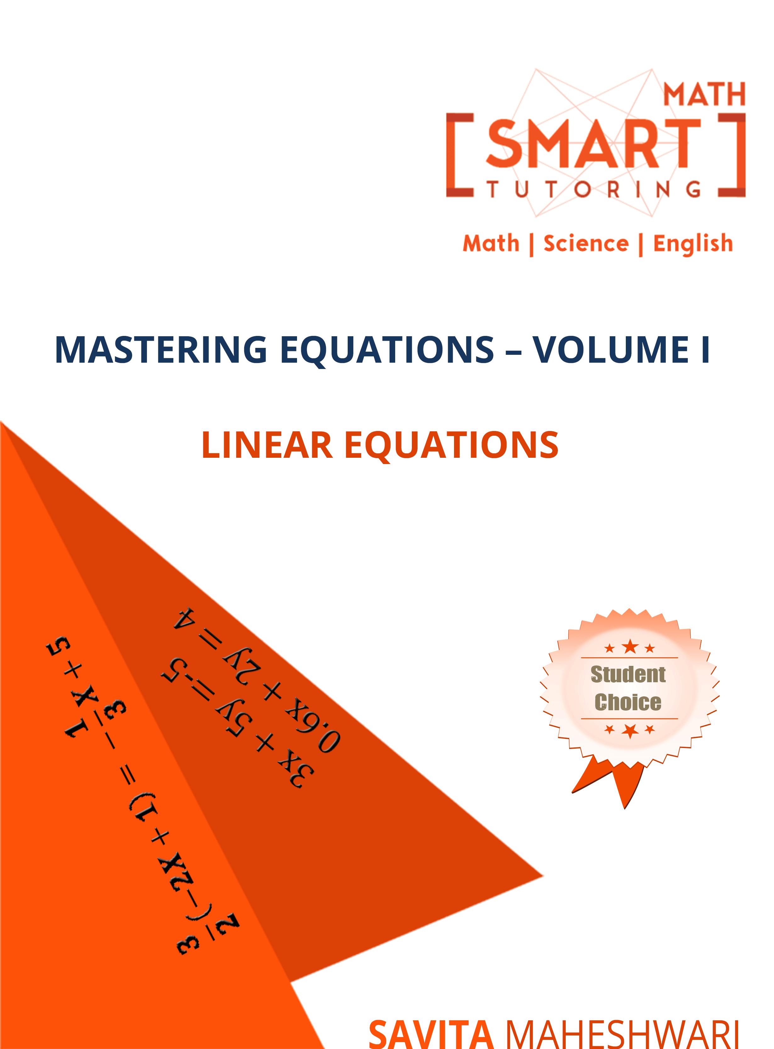 Mastering Equation-Vol I